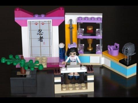 Vidéo LEGO Friends 41002 : Emma et son cours de Karaté