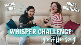 WHISPER CHALLENGE: GUESS THE SONG EDITION