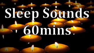 Gentle Waterfall Sounds With Floating Candles 60mins