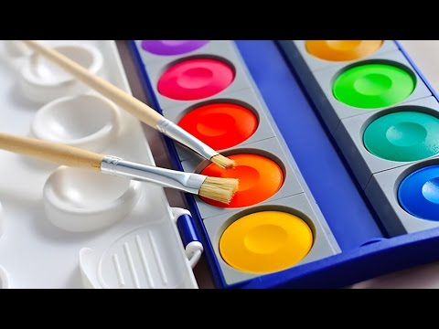 DIY: How to Make AWESOME Homemade Watercolor Paints, perfect for Coloring Kids Crafts!