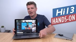 Chuwi Hi13 Unboxing - Windows 10 Tablet With Surface Book Screen