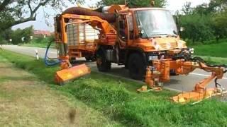 MULAG roadsde maintenance equipment - product overview Unimog 2011