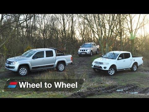 Mitsubishi L200 vs Nissan Navara vs Volkswagen Amarok video 4 of 4