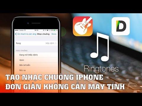 Cách tạo nhạc chuông cho iPhone không cần máy tính,Không cần jaibreak, nhanh gọn