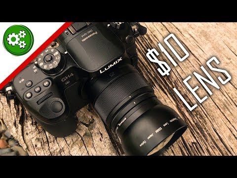 Are CHEAP Lenses GOOD? Ultimaxx 52mm Telephoto Lens Review