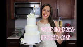 Wedding Cake With Edible Lace | CHELSWEETS