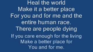 (Listen the real meaning, The Secret of this song !!!) michael jackson  heal the world lyrics