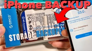 ORICO BACKUPER - Vergiss die iCloud ! iPhone Backup auf externer Festplatte - iOS & ANDROID - REVIEW
