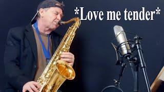 *Love me tender* Saxophon Solo Tenor Sax Alto Sax Backingtrack/Playalong Noten Sheet music Sax Coach