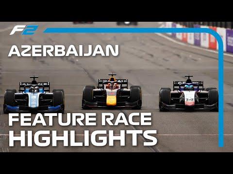 F2 アゼルバイジャンGP 市街地コースで行われるあアゼルバイジャンのレースハイライト動画
