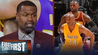 Stephen Jackson disagrees with Kobe calling out LeBron's leadership flaws | NBA | FIRST THINGS FIRST - dooclip.me