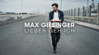 Max Giesinger   Lieber Geh Ich (Offizielles Audio)