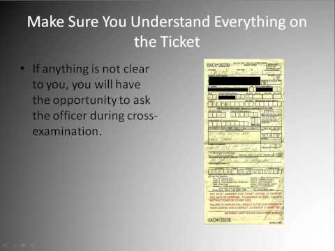 Traffic Ticket Dismissal - How To Get Yours Dismissed Mp3