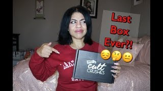 Ricky's Cult Crushes THE LAST BOX EVER?!?!