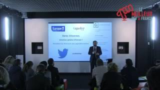 Denis Olivennes, Président du directoire de Lagardère Active au MDF15