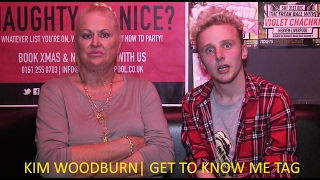 KIM WOODBURN 'GET TO KNOW ME' INTERVIEW (2017)