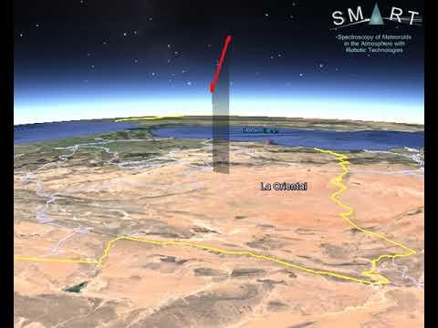 Detectan una bola de fuego sobrevolando el noroeste Marruecos a 245.000 km/hora