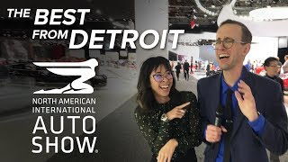 The Best Cars and Trucks of the 2018 Detroit Auto Show