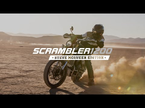 2022 Triumph Scrambler 1200 Steve Mcqueen Edition in Belle Plaine, Minnesota - Video 1