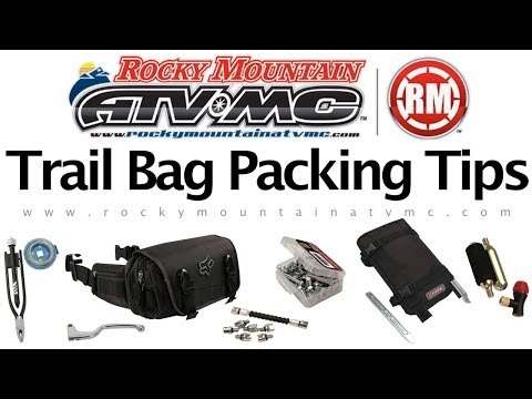 Dirt Bike Trail Tool Kit and Packing Tips