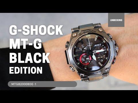 Casio G-Shock MT-G Black-Red Limited Edition Box MTGB2000BDE-1