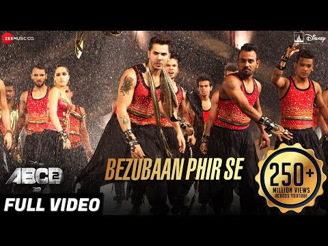 Download Bezubaan Phir Se Full Video | Disney's ABCD 2 | Varun Dhawan & Shraddha Kapoor | Sachin - Jigar HD Mp4 3GP Video and MP3