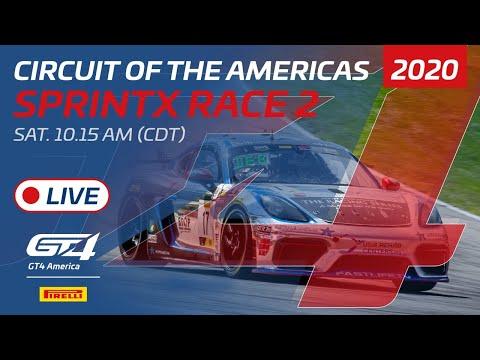 2020年 ブランパンGTワールドチャレンジ・アメリカ(COTA)GT4SPINTX レース2 レースライブ配信動画