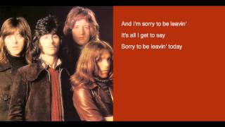 Badfinger - Suitcase lyrics - Straight Up LP