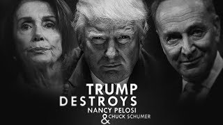 Trump DESTROYS Nancy Pelosi & Chuck Schumer
