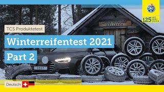 TCS-Test: Winterreifen 2021 - Teil 2