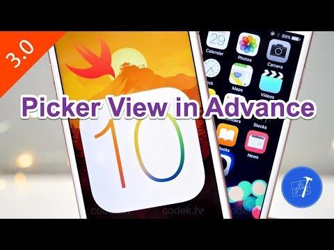 30- iOS || PickerView in Advance- عرض البيانات بالتفصيل