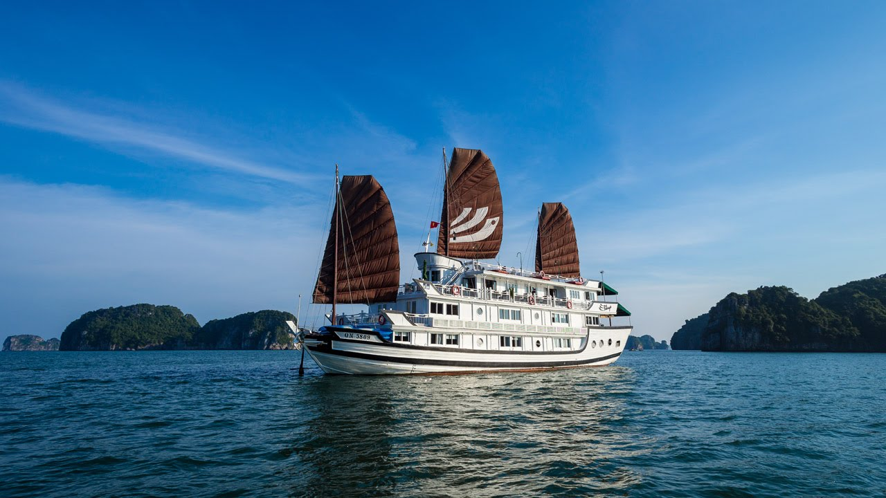 Bhaya Classic cruise in Halong Bay, Vietnam - Official Video