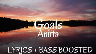 Anitta   Goals ( Lyrics   Letra   English  Bass Boosted  ) | English Version