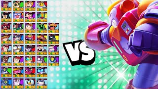 Surge 1v1 vs EVERY Brawler   With All Voice Lines!   Upgrade To Victory!