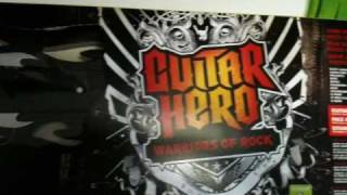 Guitar Hero: Warriors of Rock Bundle Xbox 360 Tracklist - www.origogsm.hu