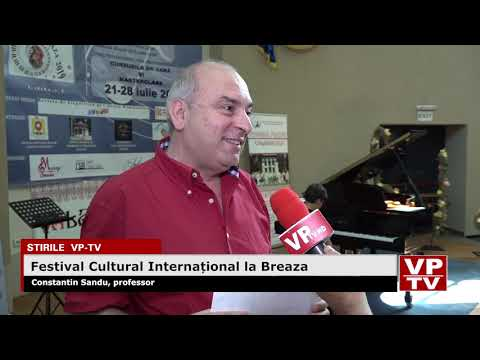Festival Cultural Internațional la Breaza