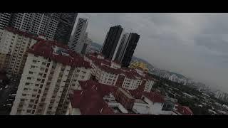 TEST FLY DENGAN HACK FCC DJI FPV DRONE