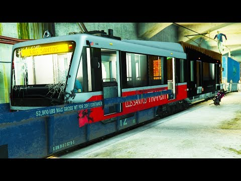 Die GTA Online Bahn wird durch den Zug GEHACKT & Beschleunigt!