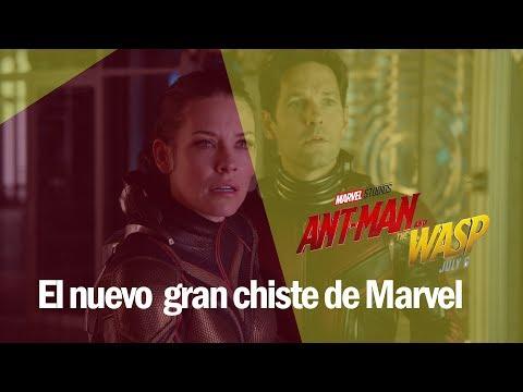 Ant-Man and The Wasp el nuevo gran chiste de Marvel