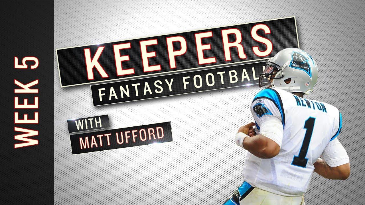 Keepers: Week 5 Fantasy Football Advice thumbnail