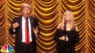 <b>Barbra Streisand</b> Duets With Donald Trump