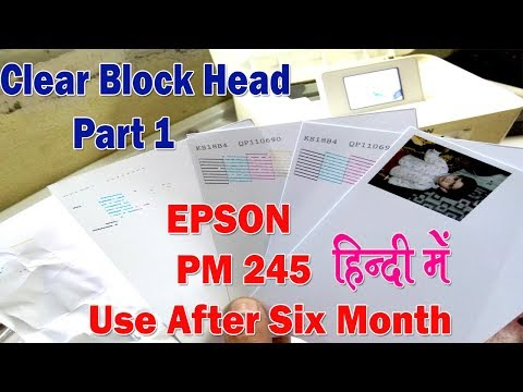 Epson Pm 245 And All Printer Waste Ink Pad Reset 100% Free