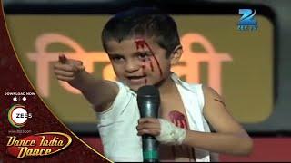 Sachin EXTRAORDINARY DANCE on Kurbaan Hua - DID L'il Masters Season 3