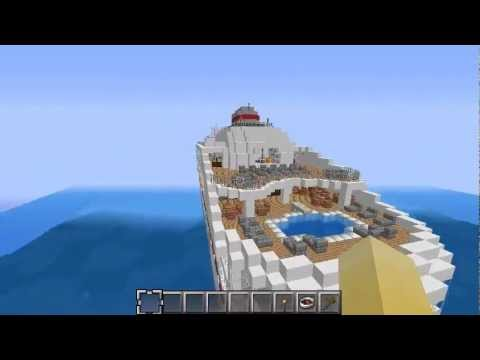 Legacy Cruise Ship Minecraft Project - Legacy cruise ship