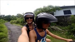 Scootertur på Lembongan Island