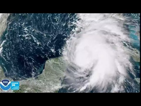 العرب اليوم - شاهد:الإعصار مايكل يشتد ويُهدد جنوب الولايات المتحدة