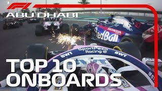 Epic Overtakes, Donuts And The Best Onboards | 2019 Abu Dhabi Grand Prix