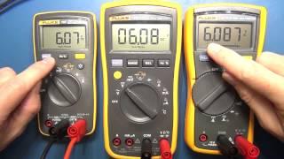 Review: Pt 1   Fluke 107 Palm Sized Digital Multimeter