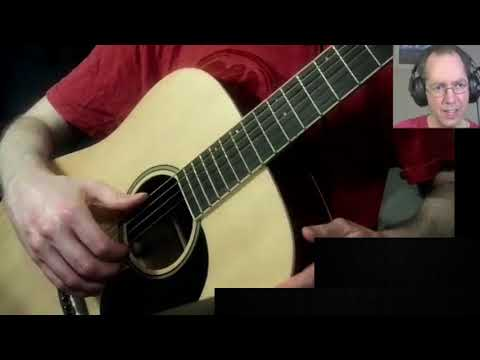 Right hand fingerstyle position and technique
