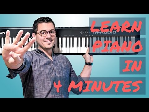 Learn Piano In 4 Minutes